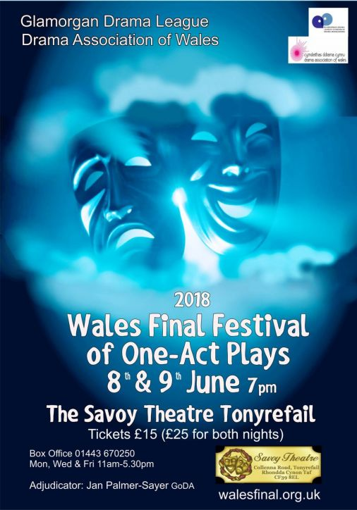 Wales Final Festival of One-Act Plays 2018