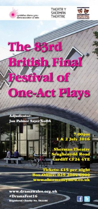 The 83rd British Final Festival of One-Act Plays