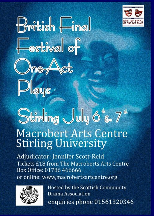 British Final Festival of One-Act Plays 2018