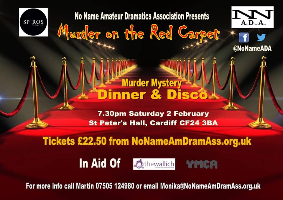 Murder on the Red Carpet - No Name Amateur Dramatic Association