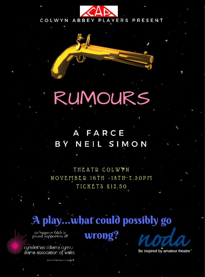 Colwyn Abbey Players Present Rumours